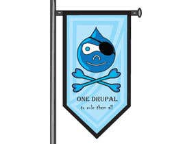 nº 18 pour Design a Logo for Drupal Project [One] par muralivilla