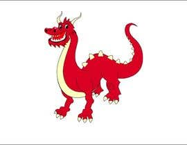 #133 untuk Draw Friendly Dragon Character and logo oleh rasithagamage