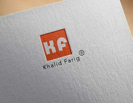 Gnaiber tarafından Design a Logo for my name khalid farig için no 9