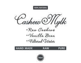 "#32 para I need some Graphic Design for a product label ""Cashew Mylk"" por veranika2100"