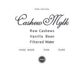"#45 for I need some Graphic Design for a product label ""Cashew Mylk"" af veranika2100"