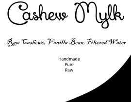 "#1 for I need some Graphic Design for a product label ""Cashew Mylk"" af spikes28"