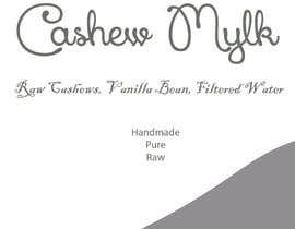 "#2 for I need some Graphic Design for a product label ""Cashew Mylk"" af spikes28"
