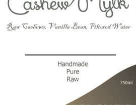 "#3 for I need some Graphic Design for a product label ""Cashew Mylk"" af spikes28"