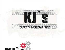 #2 untuk Design a Logo and Business Card Design for KJ's Fleet Maintenance oleh Dinechek