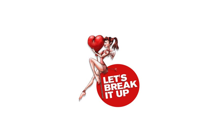 Penyertaan Peraduan #6 untuk lets break it up logo