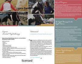 #14 untuk Brochure for Horse therapy company oleh LascoDaniil