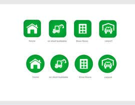 #18 cho Design icons / pictograms (real estate) bởi xrevolation
