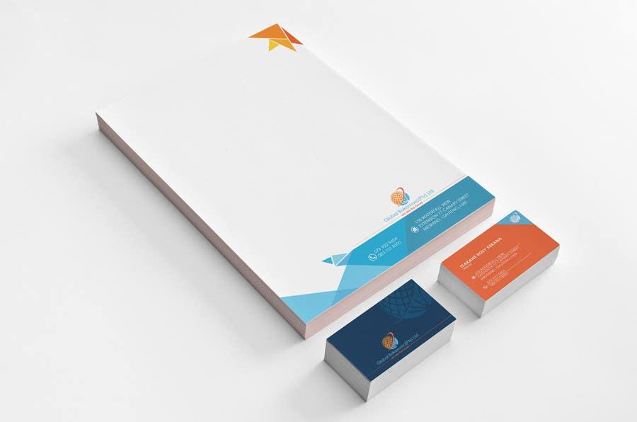Kilpailutyö #34 kilpailussa Design a letterhead and business cards for a multi service company