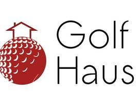 nº 25 pour Design eines Logos for Golf Haus par bishakhghosh