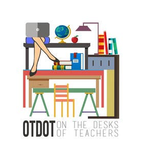 #9 cho Design a Logo for On the Desks of Teachers (OTDOT) bởi dzezva