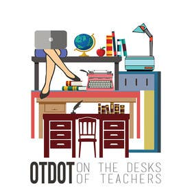 #22 cho Design a Logo for On the Desks of Teachers (OTDOT) bởi dzezva