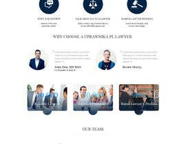 hieuhugo127 tarafından Design a webpage and logotype for Lawyers service için no 35
