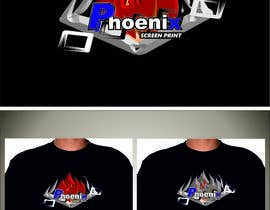 #24 for Design a Logo for Phoenix Screen Printing af ALEJVNDRO