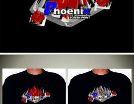 #26 for Design a Logo for Phoenix Screen Printing af ALEJVNDRO