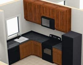 #18 para Re-draw floorplan to color 3D drawing por amdisenador