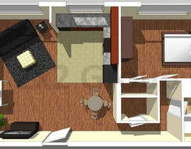 #16 for Re-draw floorplan to color 3D drawing af zx2group