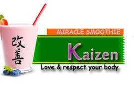 #13 para Design a Logo for Kaizen Miracle Smoothie por bhanuudhay