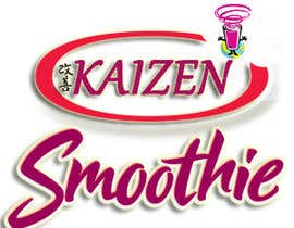#16 para Design a Logo for Kaizen Miracle Smoothie por bhanuudhay