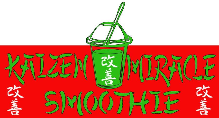 Penyertaan Peraduan #10 untuk Design a Logo for Kaizen Miracle Smoothie