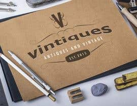 #104 for Design a Logo for vintiques af Gnaiber