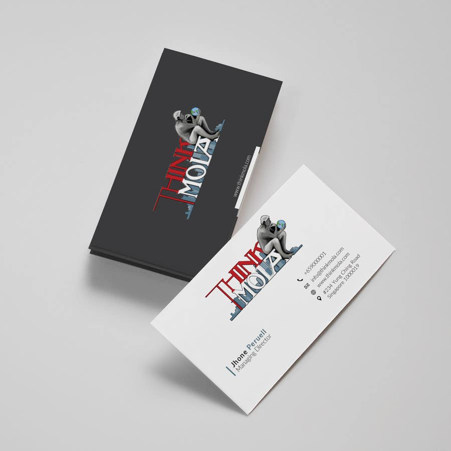 Kilpailutyö #37 kilpailussa Design Business Cards for my company
