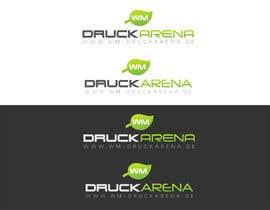 #12 untuk Design eines Logos für die wm druckarena GmbH oleh publismart