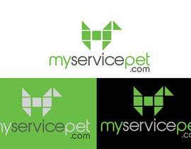 #28 para Design a Logo for myservicepet.com por Masinovodja