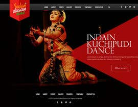 #14 untuk Build a Website for Indian Classical Dance School oleh webmastersud