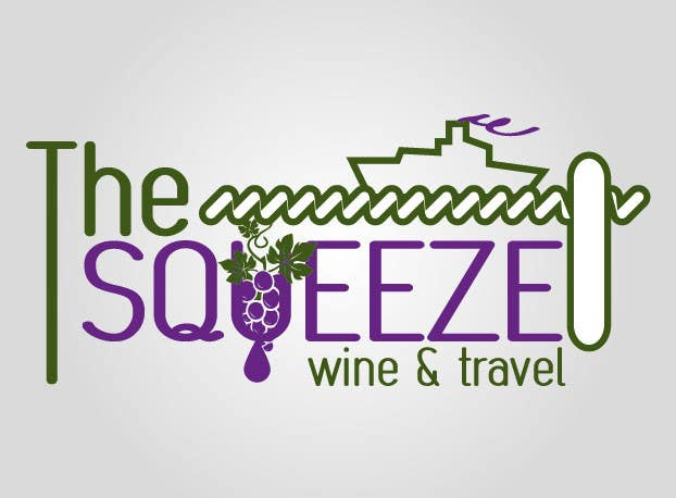 Penyertaan Peraduan #9 untuk Design a Logo for The Squeeze (wine & travel brand)