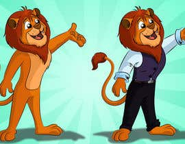 #52 untuk Illustrate Cartoon Lion for New Company oleh stants