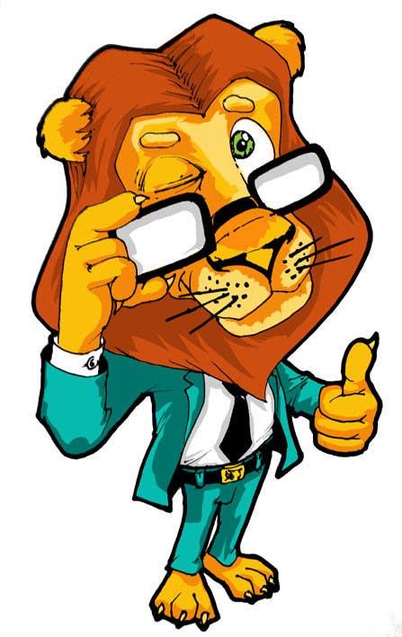 Bài tham dự cuộc thi #47 cho Illustrate Cartoon Lion for New Company