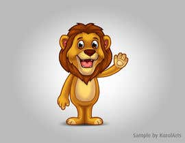 #46 untuk Illustrate Cartoon Lion for New Company oleh KozolArts