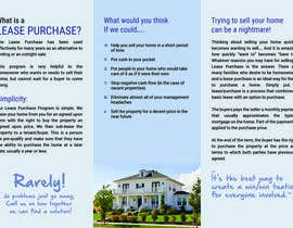 #8 untuk Design a Brochure for real estate investment company oleh Rapideye