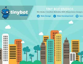 #14 untuk Design a Website Mockup for The TINY BOT STUDIOS oleh muhamedibrahim25