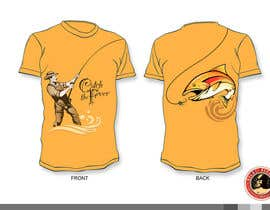 #13 untuk Design a cool fishing shirt for my company Catch the Fever oleh KilaiRivera