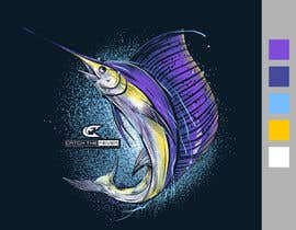 #27 untuk Design a cool fishing shirt for my company Catch the Fever oleh crayonscrayola