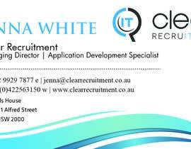 #1 for Recruitment Firm Business Card af djmalibiran
