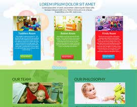 #17 for Design a Website Mockup for A Child Care Centre af aryamaity
