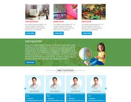 #21 cho Design a Website Mockup for A Child Care Centre bởi Bhagirthm