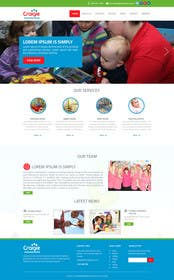 #10 cho Design a Website Mockup for A Child Care Centre bởi ankisethiya