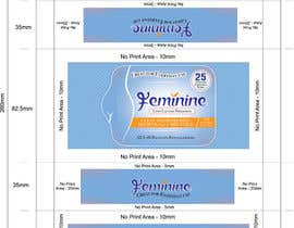#5 untuk Create Print and Packaging Designs for Feminine (vaginal) freshness wipes oleh graphidesginer