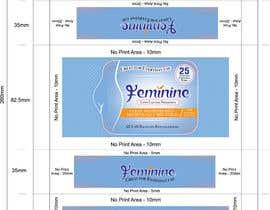 Nro 5 kilpailuun Create Print and Packaging Designs for Feminine (vaginal) freshness wipes käyttäjältä graphidesginer