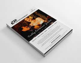Brandwar tarafından Design a Flyer and Business Card for an Entertainment Company to use at a Wedding Expo için no 75