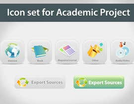 topcoder10 tarafından Icons Design for Academic Project için no 28