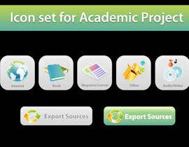 nº 27 pour Icons Design for Academic Project par topcoder10