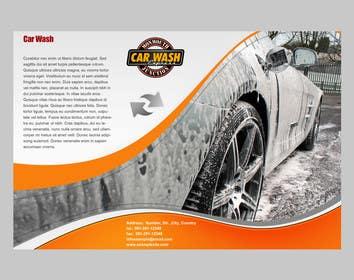 #1 untuk Design a Brochure for a local car wash / car detailing center oleh crazenators