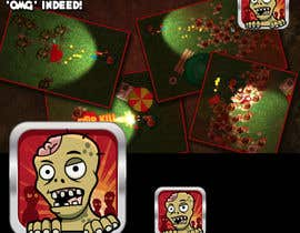 #24 cho Design - 2D Zombie Game Icon bởi Bebolum