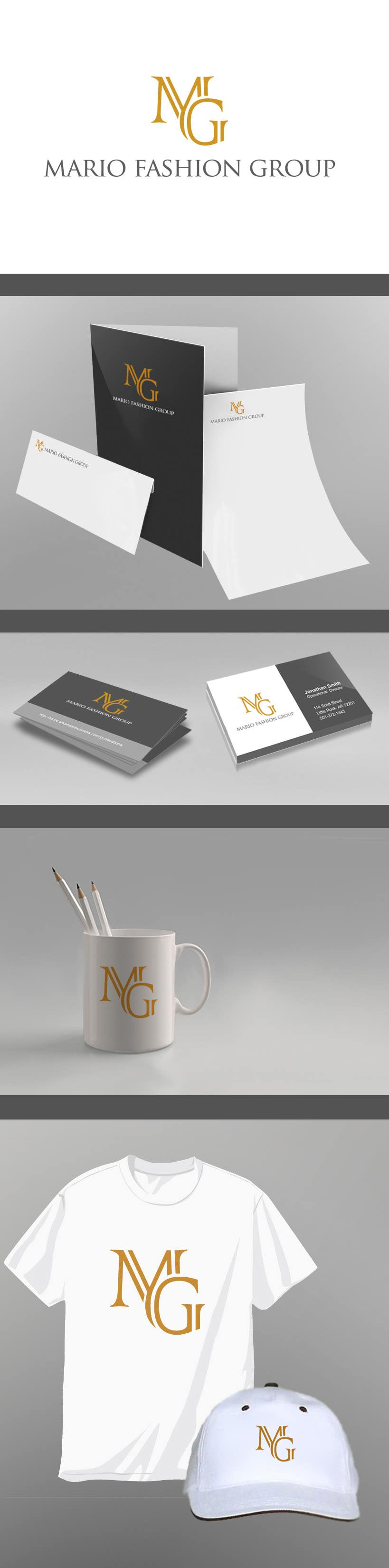 Contest Entry #28 for Develop a Corporate Identity for Mario Fashion Group