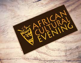 "#35 for Design a Logo for the ""African Cultural evening NY"" af rumyanamileva"